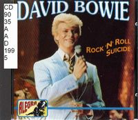 David Bowie Rock'n'Roll Suicide album cover