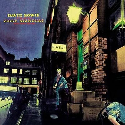 David Bowie - The Rise And Fall Of Ziggy Stardust And The Spiders From Mars CD (album) cover