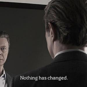 David Bowie Nothing Has Changed album cover