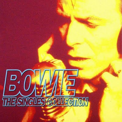 David Bowie The Singles Collection album cover