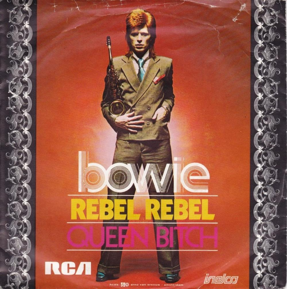 Rebel Rebel by BOWIE, DAVID album cover