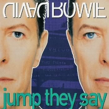 David Bowie Jump They Say album cover