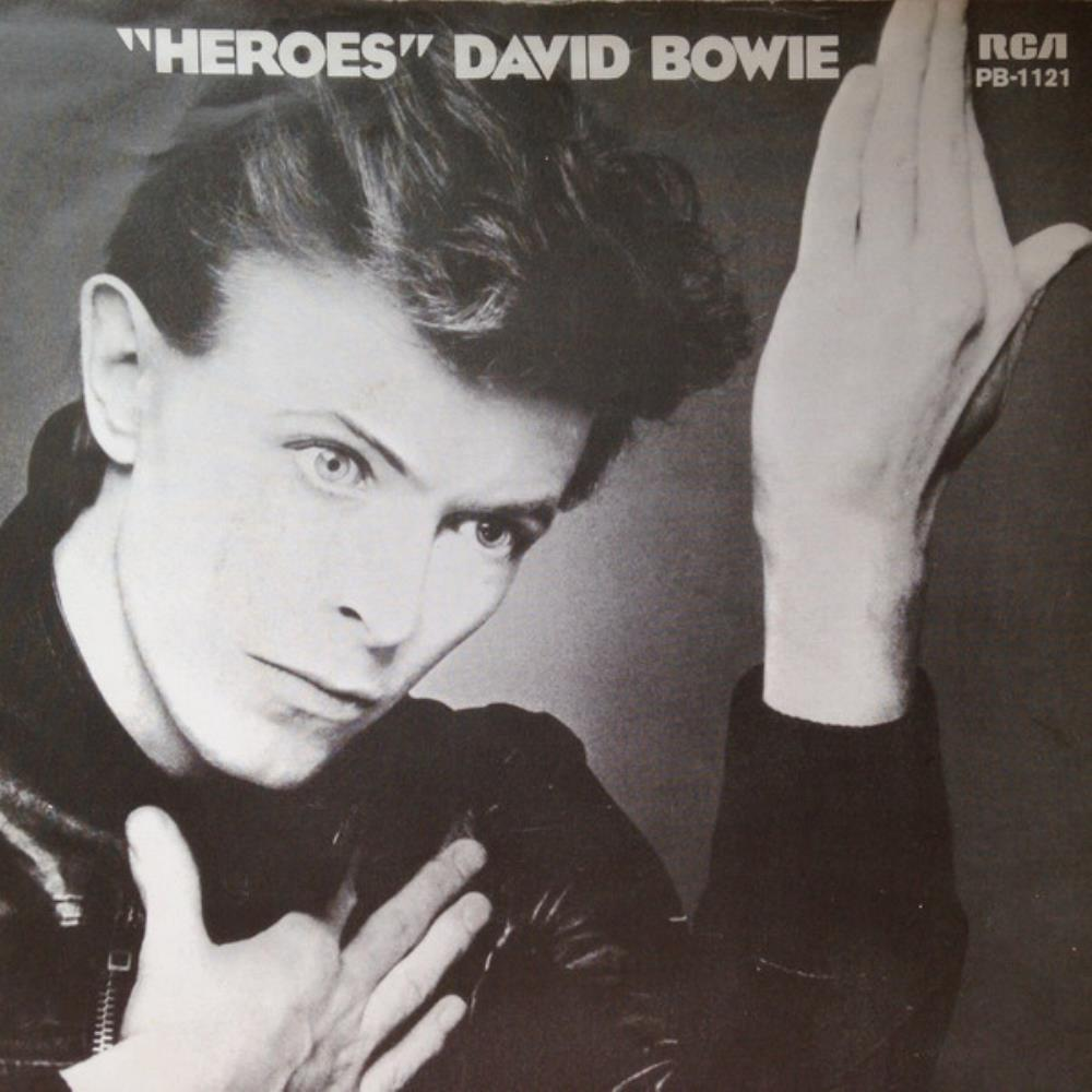 David Bowie Heroes album cover