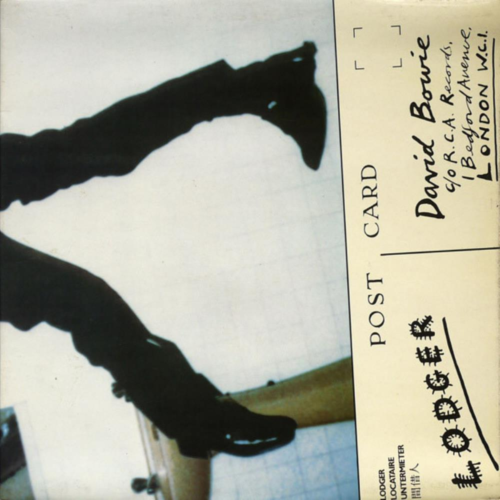 Lodger by BOWIE, DAVID album cover