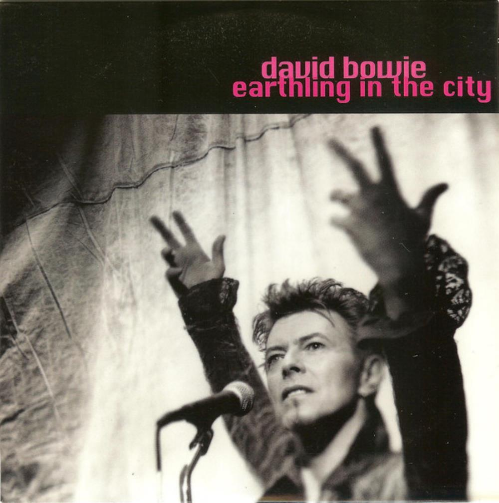 David Bowie Earthling in the City album cover