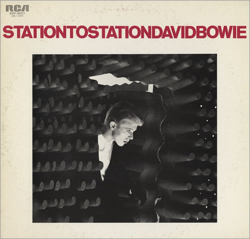 David Bowie Station to Station album cover