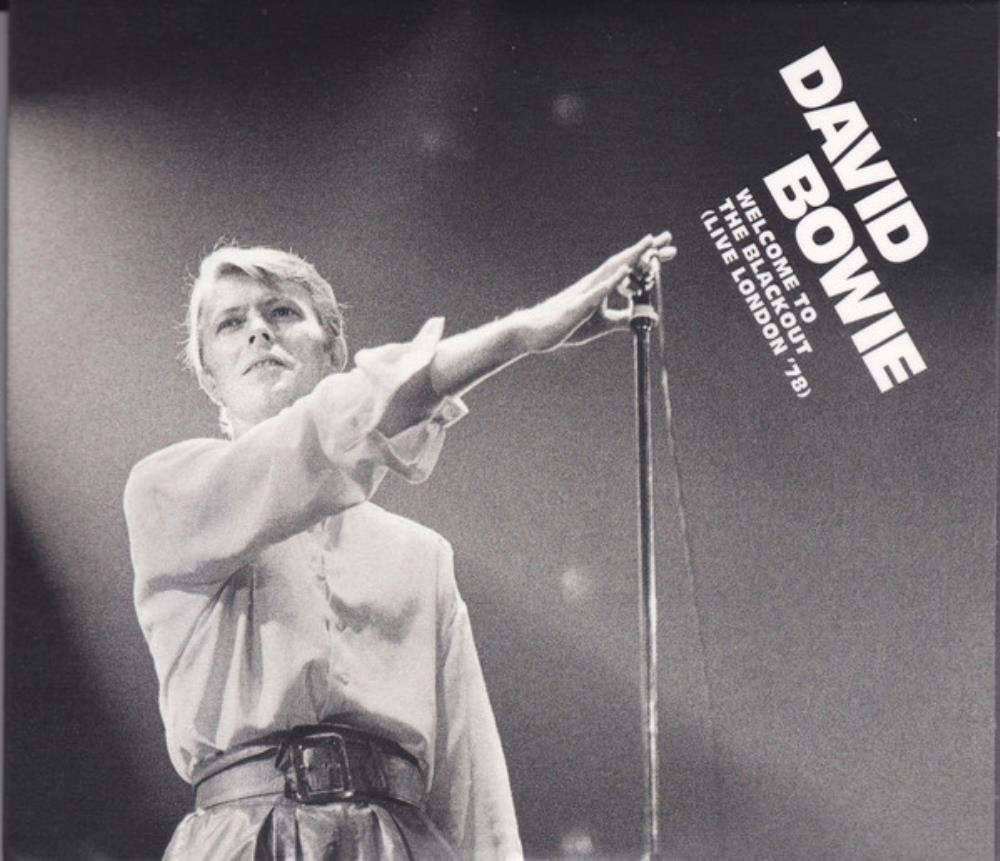 David Bowie Welcome to the Blackout (Live London '78) album cover