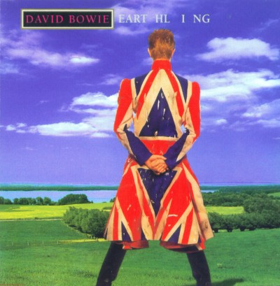 David Bowie Earthling album cover
