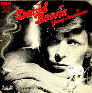 David Bowie Young Americans / Suffragette City album cover