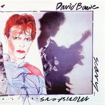 David Bowie Scary Monsters (and Super Creeps) album cover