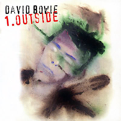 David Bowie - 1. Outside CD (album) cover
