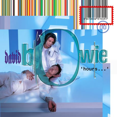David Bowie 'hours...' album cover