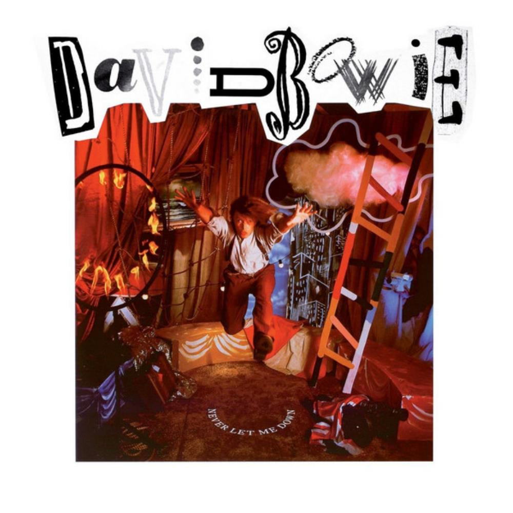 David Bowie - Never Let Me Down CD (album) cover