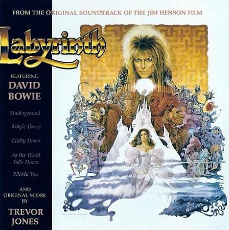 David Bowie Labyrinth - Original Soundtrack album cover