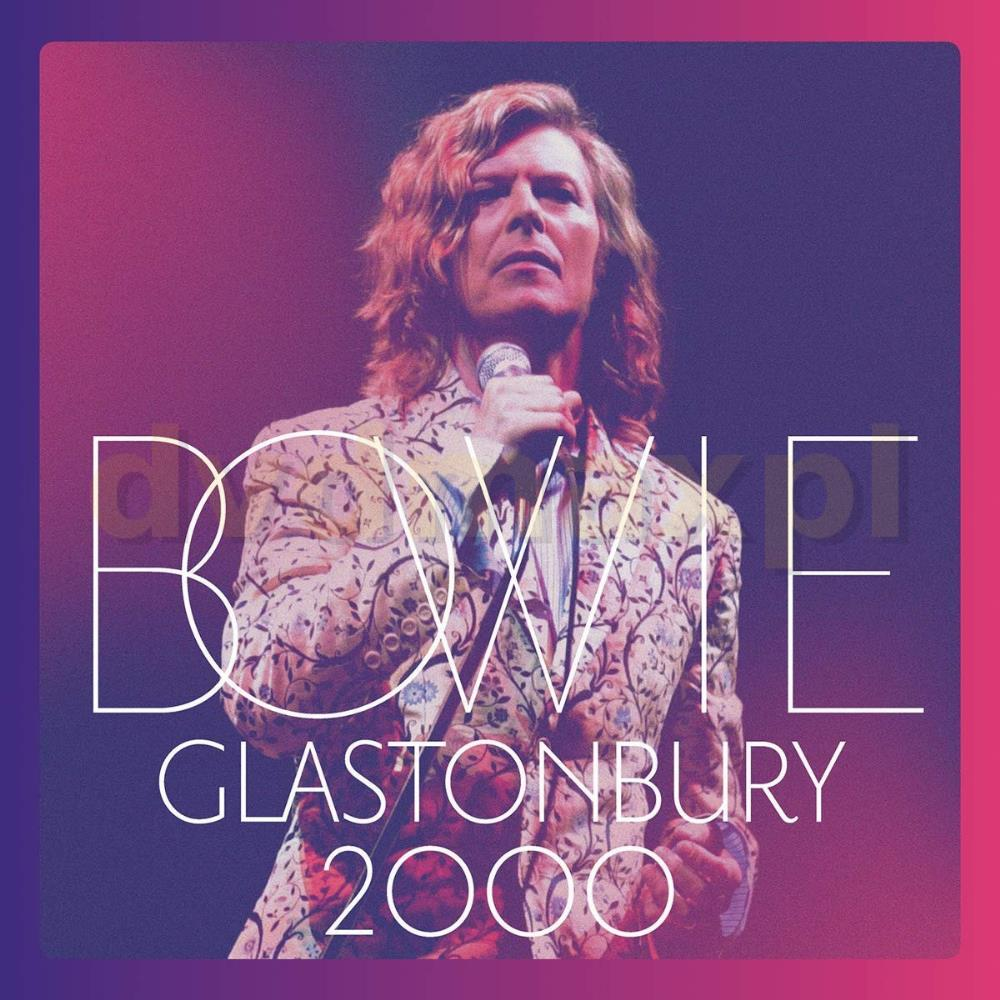 Glastonbury 2000 by BOWIE, DAVID album cover