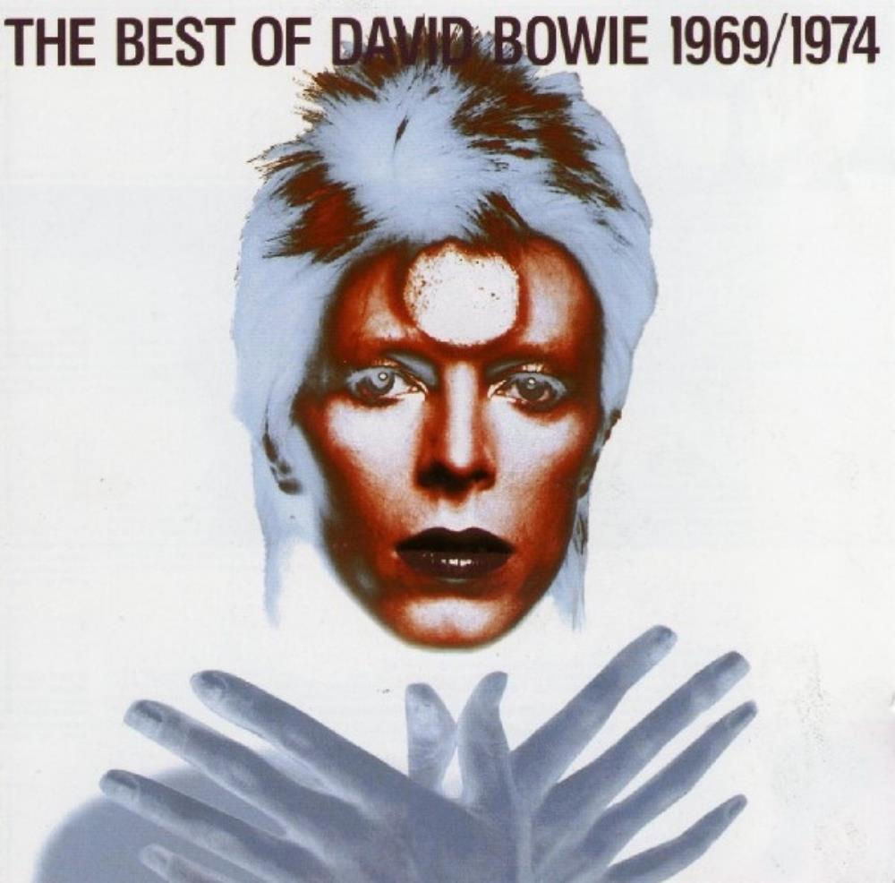 David Bowie The Best of David Bowie 1969/1974 album cover