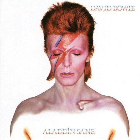 David Bowie Aladdin Sane album cover