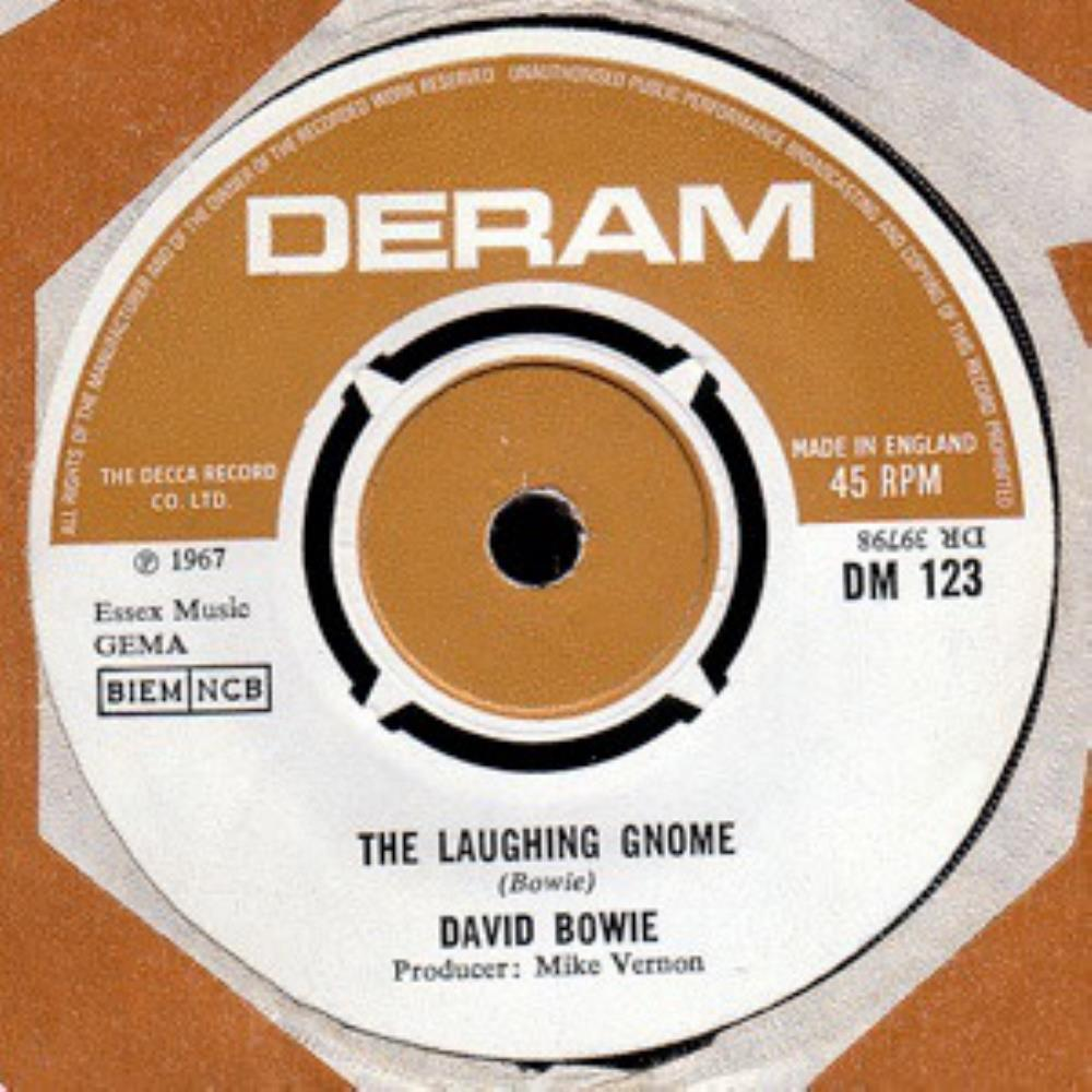 David Bowie The Laughing Gnome album cover