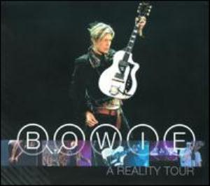 David Bowie A Reality Tour album cover