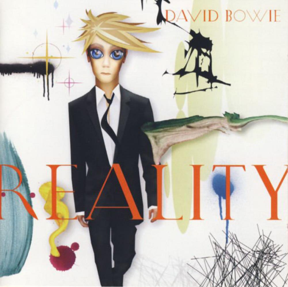 Reality by BOWIE, DAVID album cover