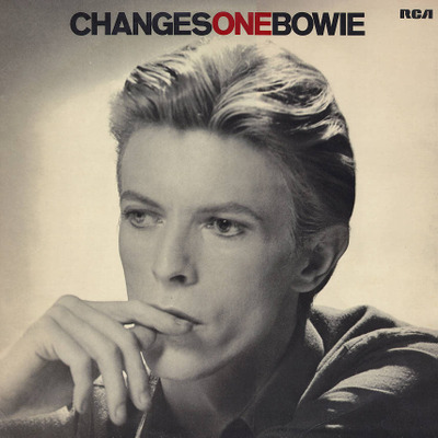 David Bowie ChangesOneBowie album cover