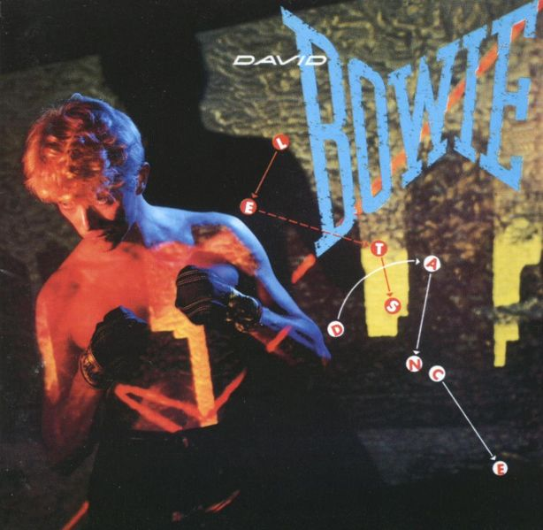 David Bowie Let's Dance album cover