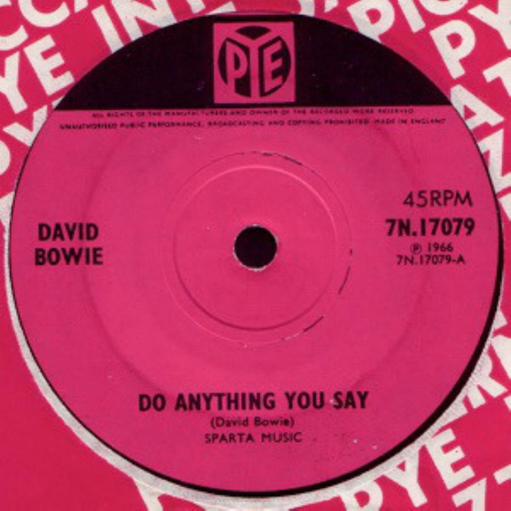 David Bowie Do Anything You Say album cover
