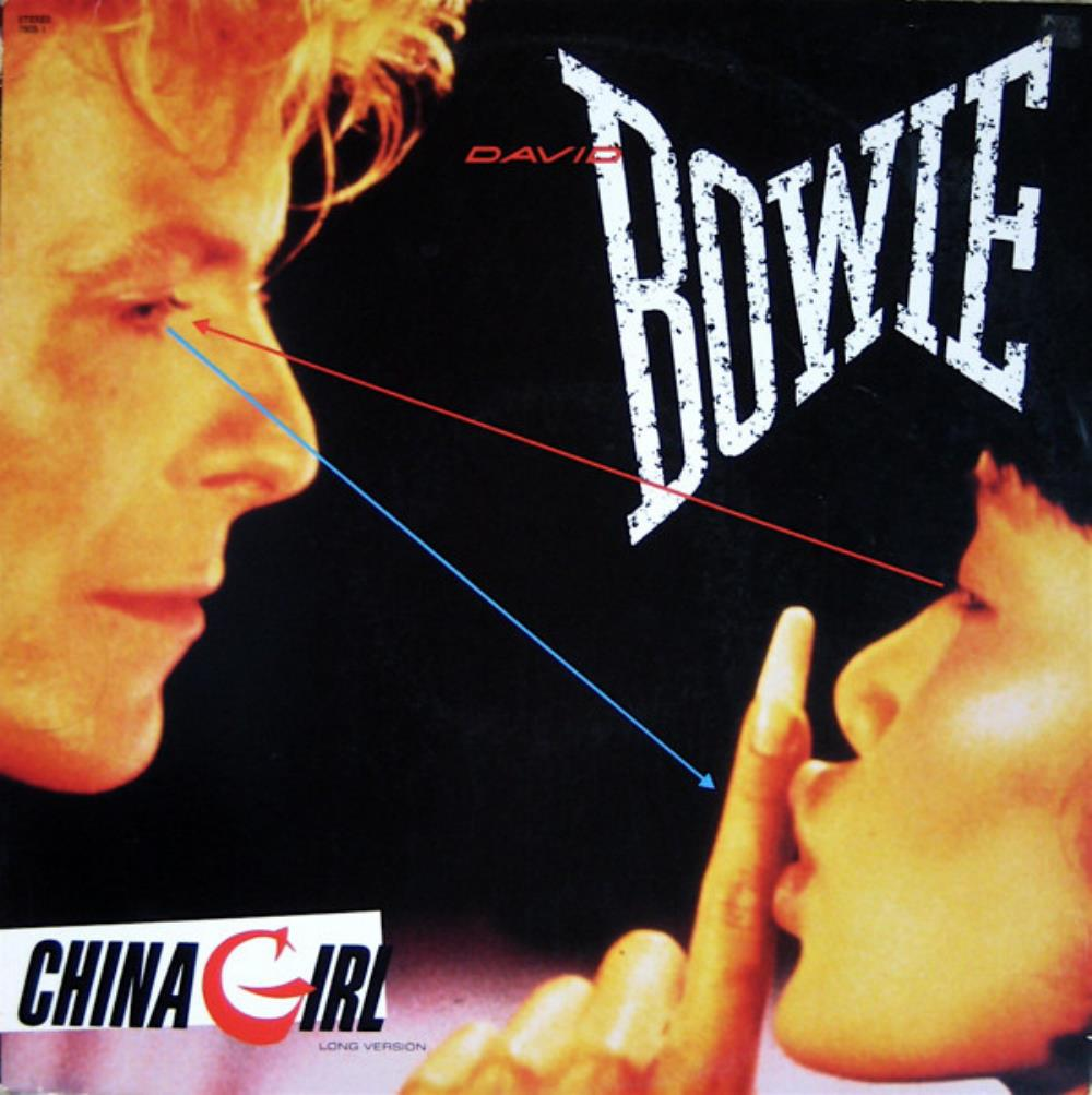 David Bowie China Girl album cover