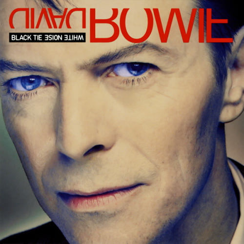 David Bowie Black Tie White Noise album cover