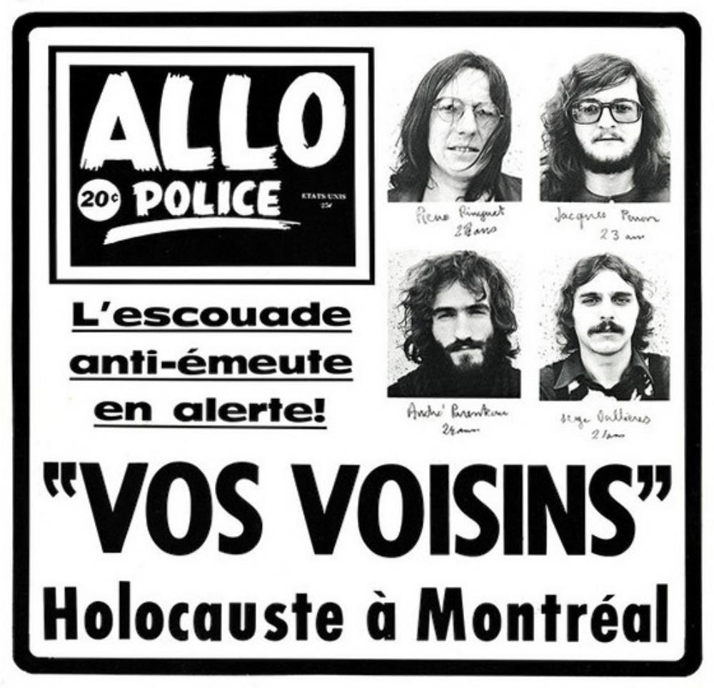 Vos voisins by VOS VOISINS album cover
