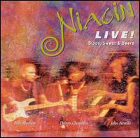 Niacin - Live  (Niacin) CD (album) cover
