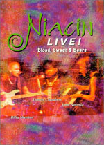 Niacin - Niacin Live: Blood, Sweat & Beers CD (album) cover
