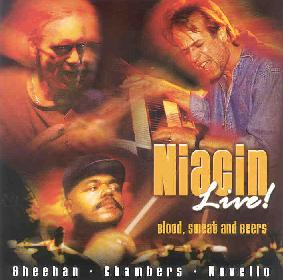Niacin - Niacin Live! Blood, Sweat and Beers  CD (album) cover