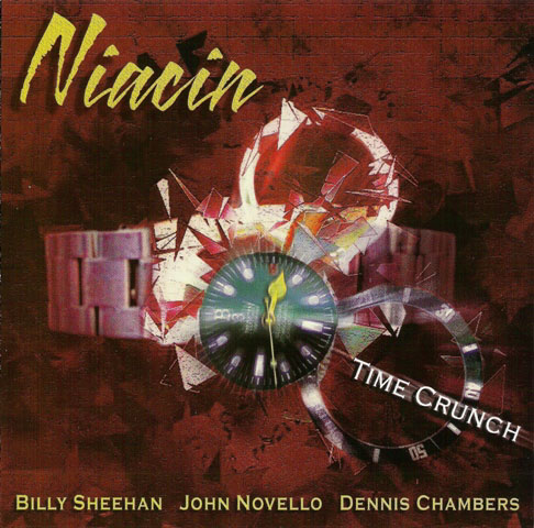 Niacin - Time Crunch  CD (album) cover