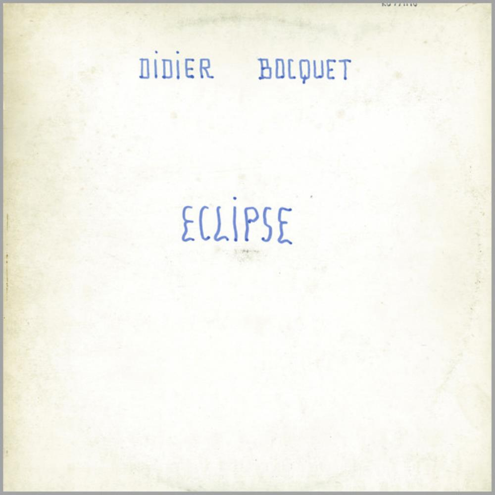 Didier Bocquet Eclipse album cover