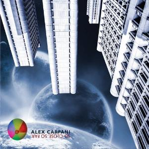 Alex Carpani Band - So Close. So Far. CD (album) cover