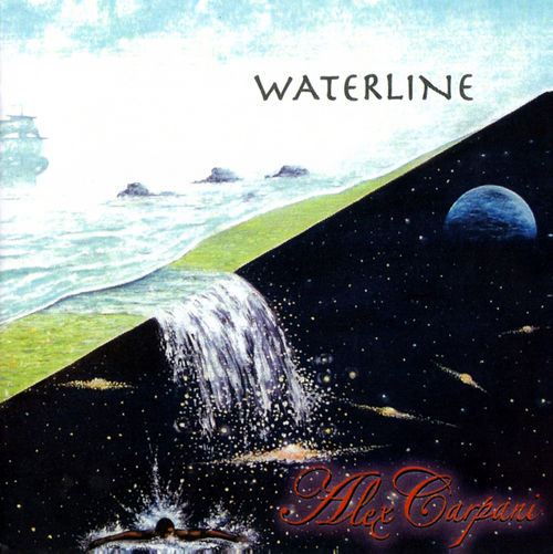 Alex Carpani Band - Waterline CD (album) cover