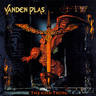 Vanden Plas - The God Thing CD (album) cover
