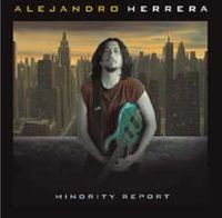 Alejandro Herrera Minority Report album cover