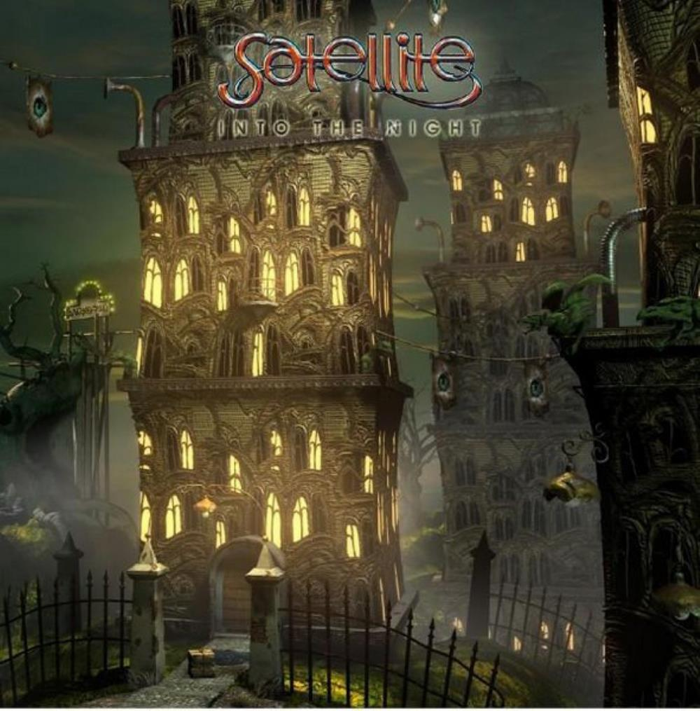 Satellite - Into The Night CD (album) cover
