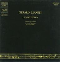 La mort d'Orion by MANSET, GERARD album cover