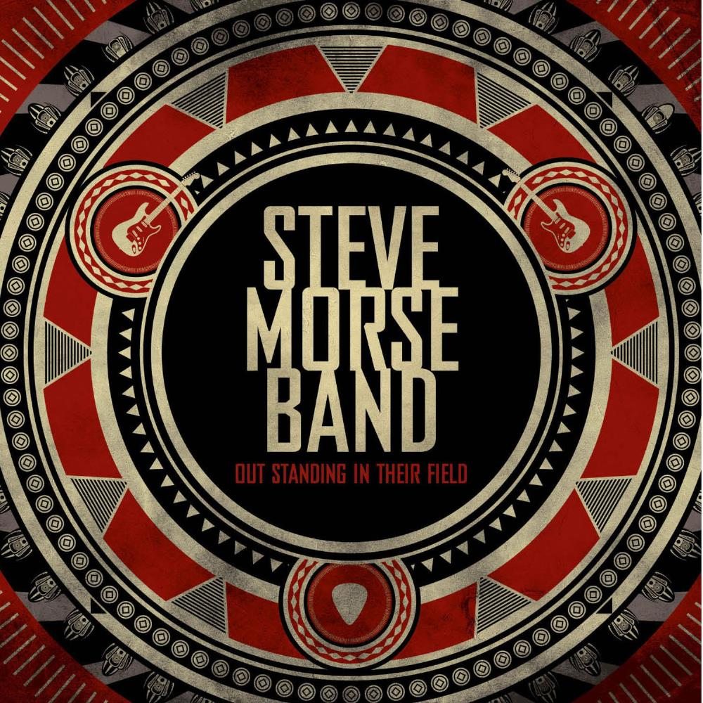 Steve Morse Band Out Standing In Their Field album cover