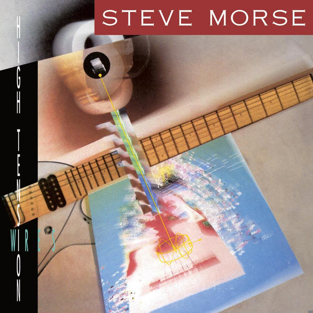 Steve Morse: High Tension Wires by MORSE BAND, STEVE album cover