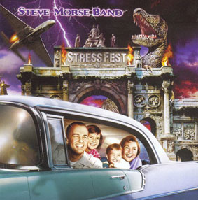 Steve  Morse Band Stressfest album cover