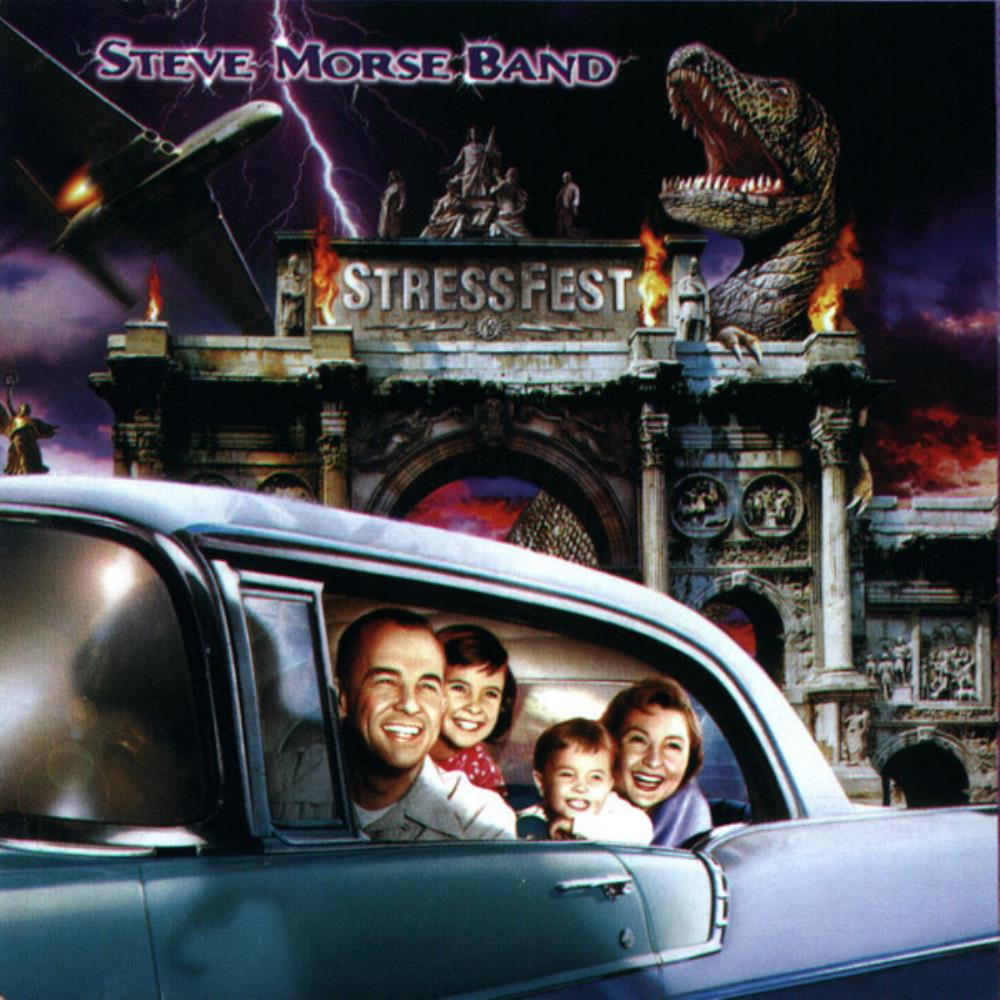 Steve Morse Band - Stressfest CD (album) cover