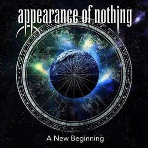 Appearance of Nothing - A New Beginning CD (album) cover
