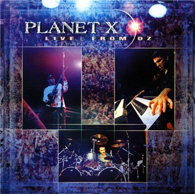 Planet X - Live From Oz  CD (album) cover