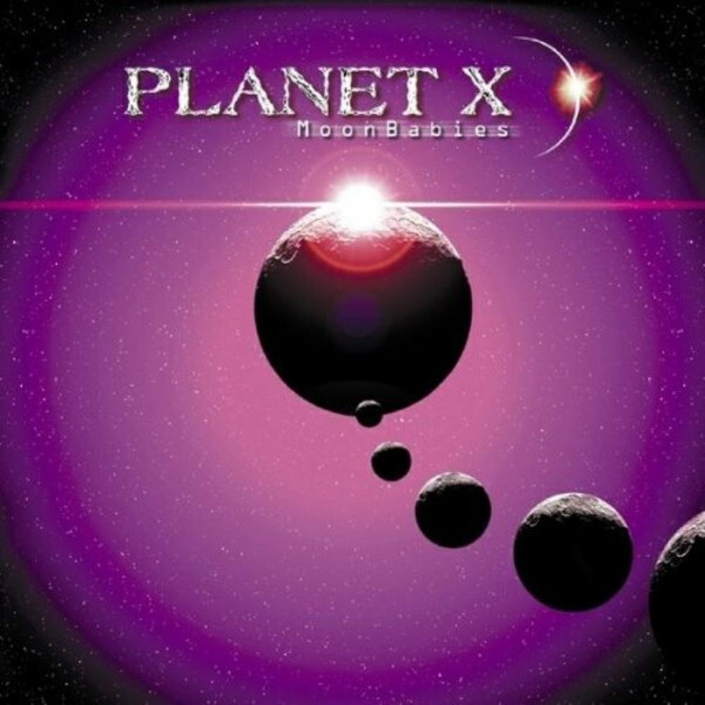 Planet X - MoonBabies CD (album) cover