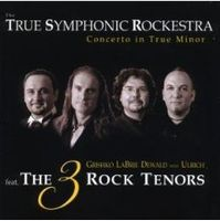 Concerto in True Minor by TRUE SYMPHONIC ROCKESTRA album cover