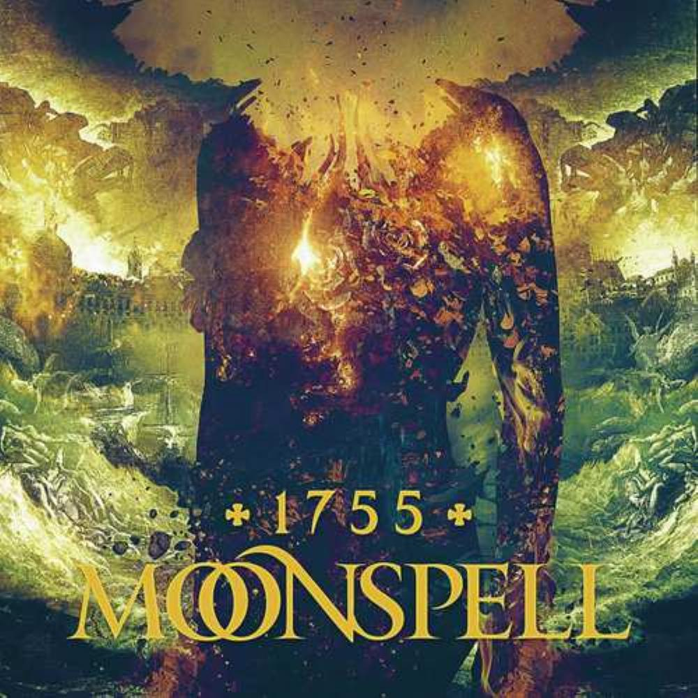 1755 by Moonspell album rcover